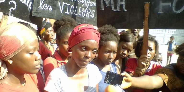 Hadja Idrissa Bah, le 8mars 2018, à Conakry.