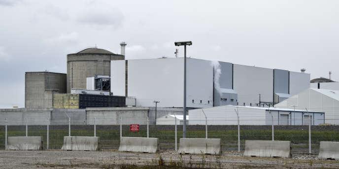 La centrale nucléaire de Blaye (Gironde) opérée par EDF, en 2017.