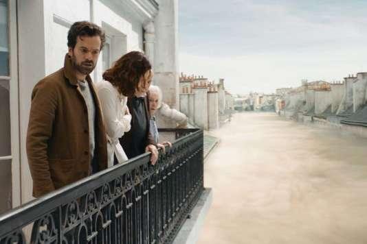 Romain Duris etOlga Kurylenko dans le film français et québécois de Daniel Roby,«Dans la brume».