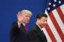Le président américain Donald Trump avec son homologue chinois Xi Jinping, à Pékin, le 9 novembre 2017.