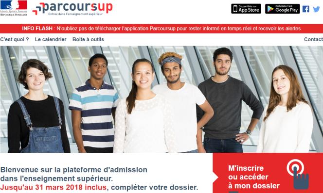 «L'université française n'a pas besoin de trier les candidats, elle a besoin de moyens pour garantir une place à tous les bacheliers dans la formation de leur choix et assurer la réussite du plus grand nombre.» (Capture d'écran du site Parcoursup.)