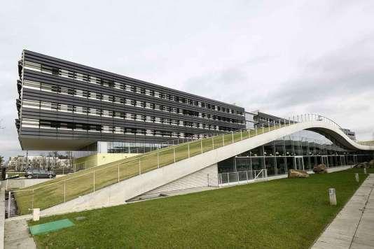 Ecole d'urbanisme de Paris à la Cité Descartes à Champs-sur-Marne (Seine-et-Marne).