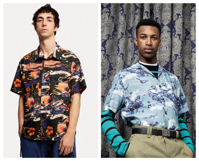 Depuis, elle a délaissé la pop culture pour la mode, déclinée en autant de motifs différents (de gauche à droite) chez Stella McCartney et Lanvin.