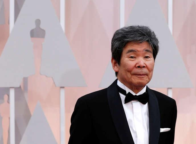 Le réalisateur japonais Isao Takahata à Hollywooden 2015.