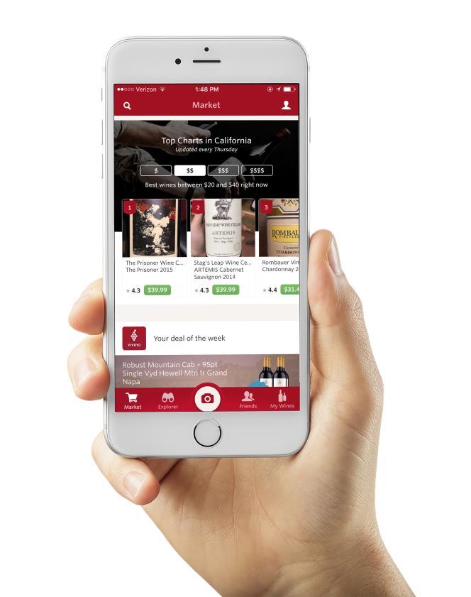 Vivino possède plus de 12 millions de références et 25 millions d'utilisateurs.