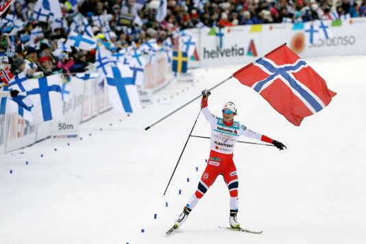 A Pyeongchang, Marit Bjoergen avait remporté deux titres olympiques.