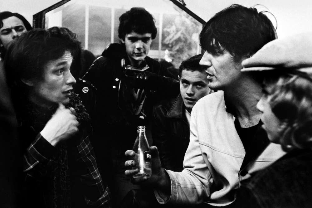 Sur le tournage du film «La Bande du Rex», à Paris, le 30avril 1980.