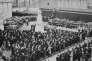 Les funérailles, le 5 avril 1944, 3 jours après le massacre de Villeneuve d'Ascq.