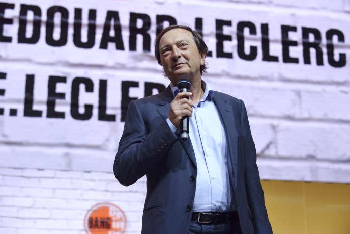 Michel-Edouard Leclerc, à Paris, le 25 mai 2016.