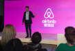 Le fondateur et président d'Airbnb, Brian Chesky, en Chine, en mars 2017.