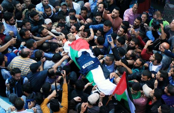 Yasser Mourtaja travaillait pour l'agence Ain Media, basée à Gaza, selon le communiqué du ministère de la santé du Hamas.