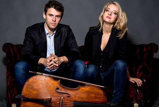 Le violoncelliste Christian-Pierre La Marca et la pianiste Lise de la Salle.