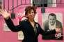 Véronique Colucci au lancement de la 32e campagne des Restos du cœur, à Paris, le 22 novembre 2016.