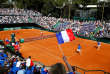Tennis - Davis Cup - Quarter-Final - Italy vs France - Valletta Cambiaso ASD, Genoa, Italy - April 7, 2018   General view of France's Pierre-Hugues Herbert and Nicolas Mahut in action during their doubles match against Italy's Simone Bolelli and Fabio Fognini    REUTERS/Tony Gentile     TPX IMAGES OF THE DAY