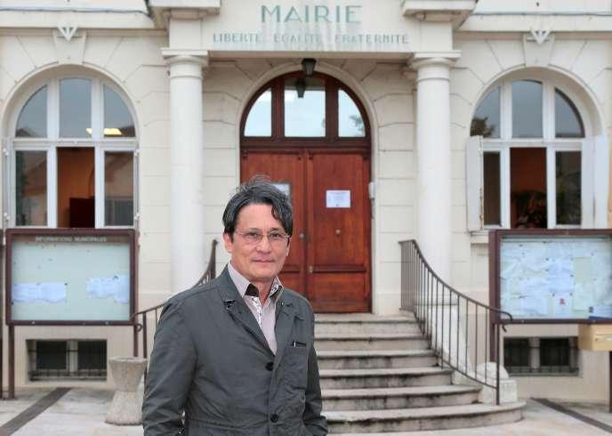 En juillet 2014, le maire de Wissous, Richard Trinquier.