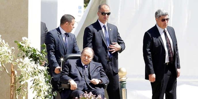 Abdelaziz Bouteflika, à Alger, le 9 avril 2018.