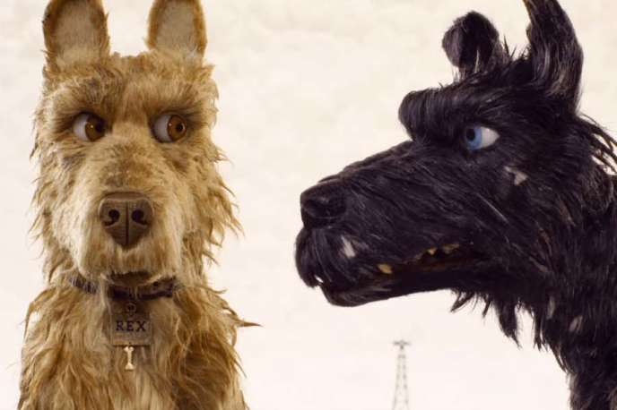 « L'Ile aux chiens» (« Isle of Dogs»), un film d'animation signé Wes Anderson.