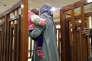 Melina Boughedir, le 19 février, à la cour pénale de Bagdad.