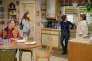 La série culte « Roseanne»,avec John Goodman et Roseanne Barr (à dr.), avait disparu des écrans en 1997, après neuf ans de diffusion.