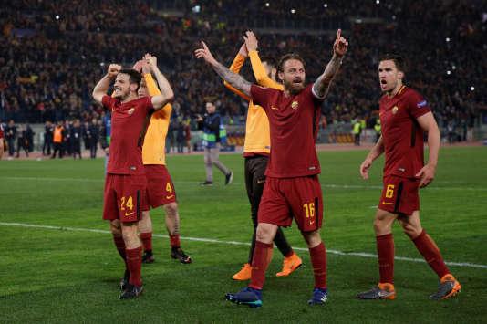 La Roma élimine le Barça, Liverpool sort Man City — LdC