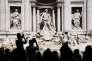 La fontaine de Trevi, à Rome, le 27 mars.