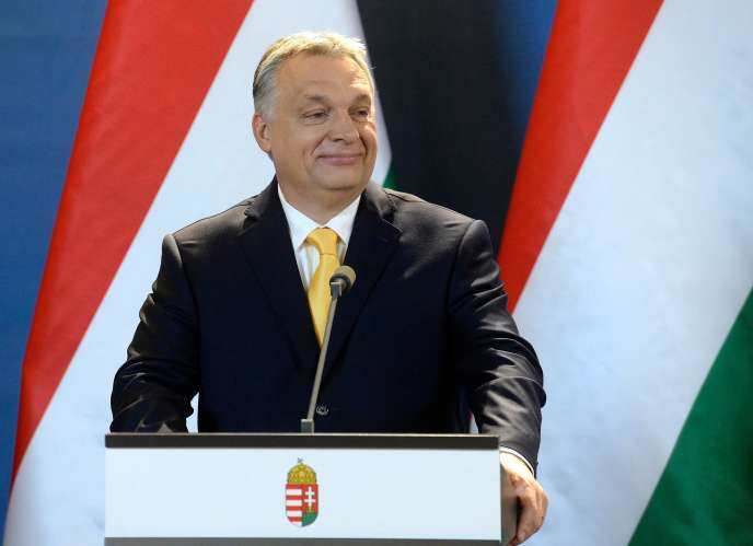 Viktor Orban, le premier ministre hongrois, à Budapest, le 10 avril.