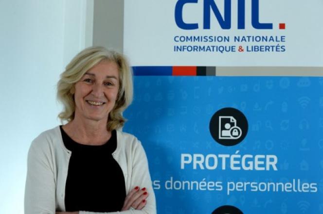 Isabelle Falque-Pierrotin, présidente de la CNIL en 2017.