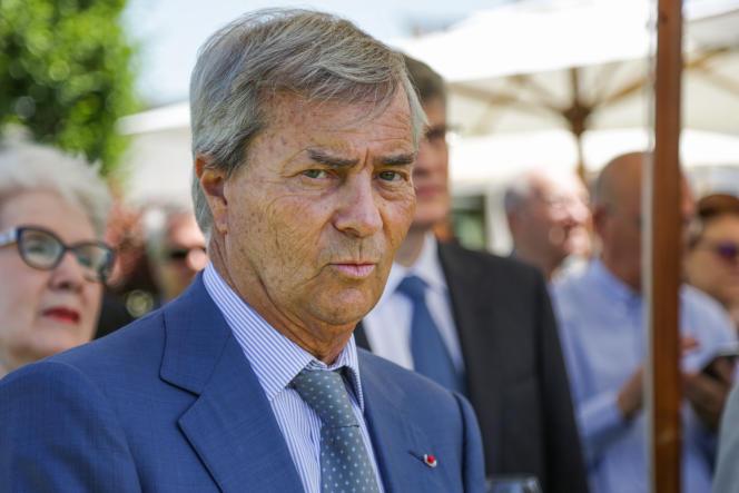 Vincent Bolloré, le 26 juin 2017 à Paris.