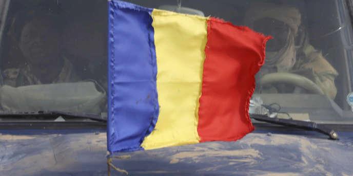 Les couleurs du drapeau du Tchad.