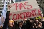 Le 10 avril était une journée de mobilisation lancée par les syndicats étudiants et du personnel de l'université./ AFP / ALAIN JOCARD