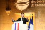 Emmanuel Macron, le 9 avril.