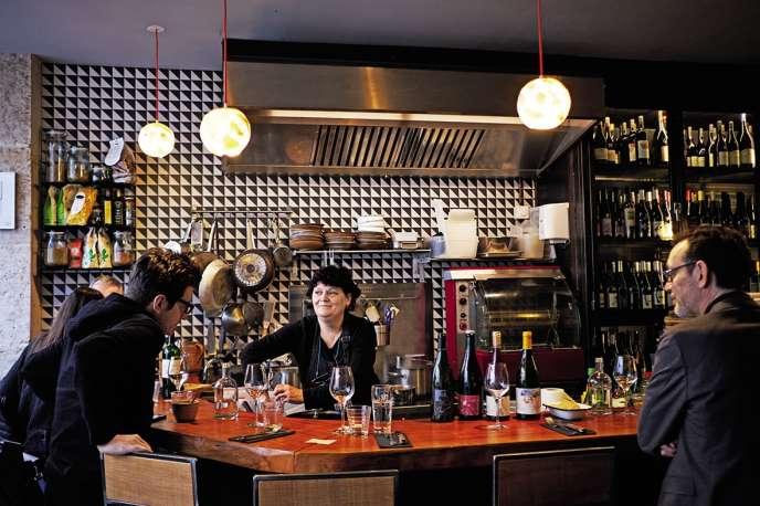 A La Canonnière, Giovanna concocte une vraie cuisine de mamma.