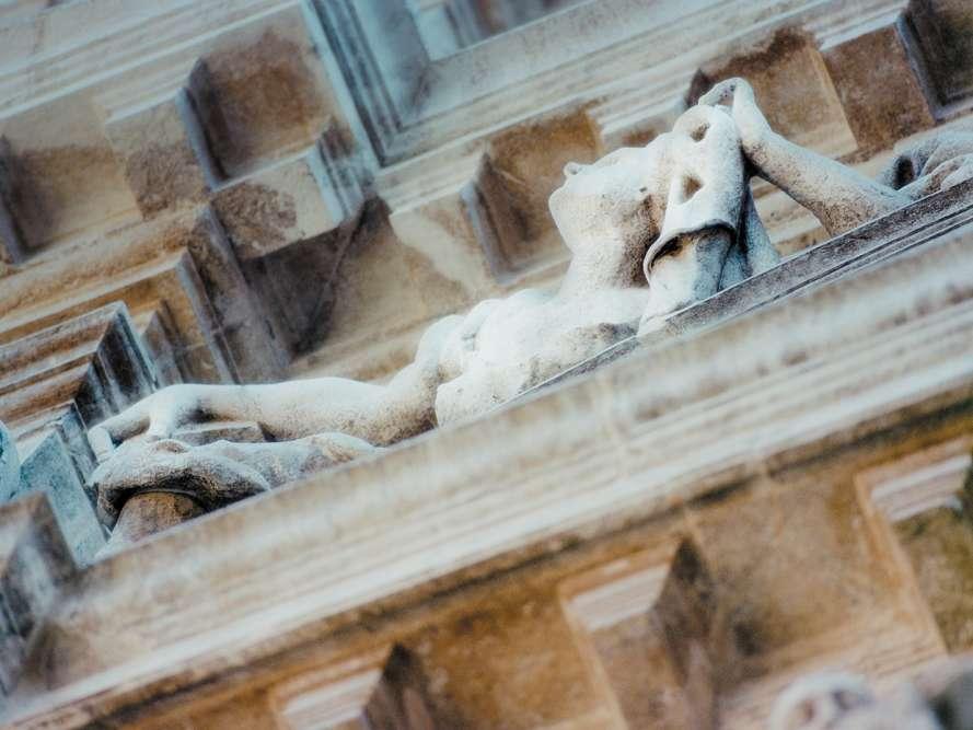Détail d'une façade vénitienne.