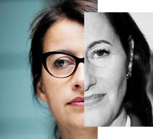 Cécile Duflot et Ségolène Royal.