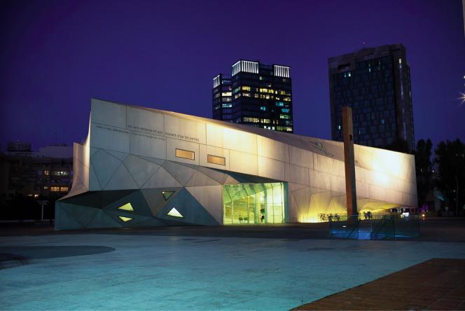 Le Tel Aviv Museum of art.