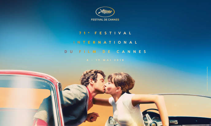 Affiche officielle du Festival de Cannes 2018.