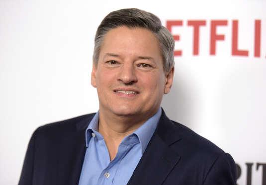 Ted Sarandos, directeur des contenus de la plate-forme américaine Netflix, le 1er février 2017.