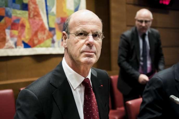 Le directeur général de la Caisse des dépôts, Eric Lombard, à Paris, en novembre 2017.
