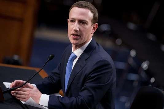 Mark Zuckerberg a répondu plusieurs heures durant aux questions des sénateurs américains, mardi 10 avril.