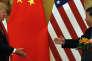 Les présidents américain, Donald Trump, et chinois, Xi Jinping, en novembre 2017, à Pékin.