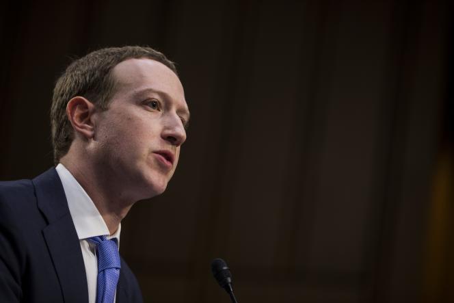 Mark Zuckerberg avait été entendu en avril 2018 par le Congrès américain.
