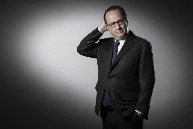 Francois Hollande, en mai 2017.