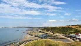 Le cap Gris-Nez est à environ 30 kilomètres des côtes britanniques.