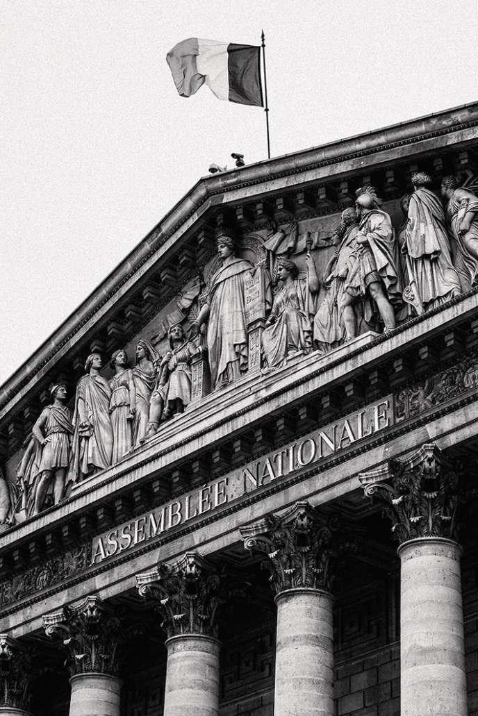 Une sculpture, deux tableaux et une gravureont disparu de l'Assemblée nationale.