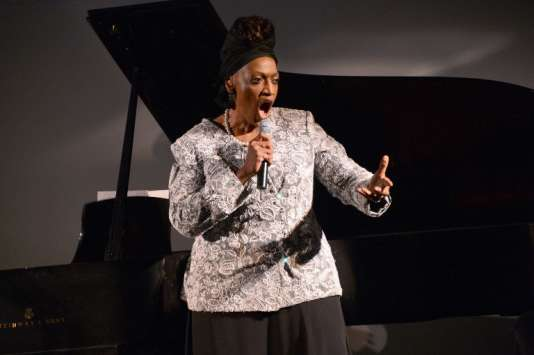 La soprano américaine, Jessye Norman, en 2012 à Washington.