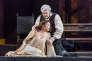 Placido Domingo et Sonya Yoncheva, sur scène dans l'opéra de Verdi« Luisa Miller», au Metropolitan Opera de New York, le 22 mars.