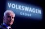 Le PDG de Volkswagen Matthias Müller, à Genève, le 5 mars.