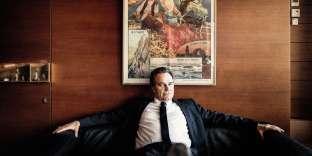 Renaud Muselier dans son bureau du conseil régional de Provence-Alpes-Côte-d'Azur, le 28 mars.