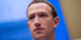 CEO of Facebook Mark Zuckerberg testifies before the Senate Commerce, Science and Transportation Committee and the Senate Judiciary Committee joint hearing regarding a data privacy scandal and the abuse of the social media platform by Russian groups, at the Capitol Hill in Washington, United States, 11 April 2018. Photo: Erin Scott/ZUMA Wire/dpa