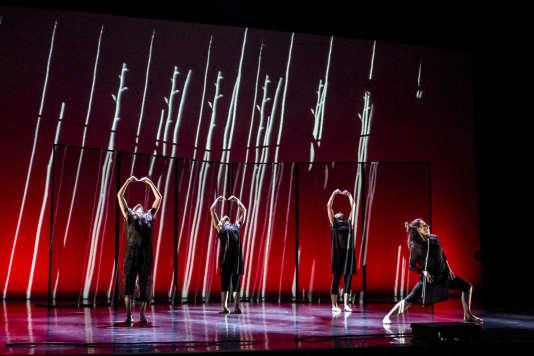 « In Transit», par la New Zealand Dance Company d'Auckland dans le cadre du Focus Austral à Chaillot.
